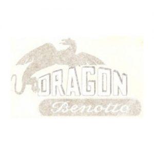Benotto Dragon, coppia adesivi pvc per serbatoio