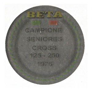 Beta, adesivo pvc per serbatoio in cromo
