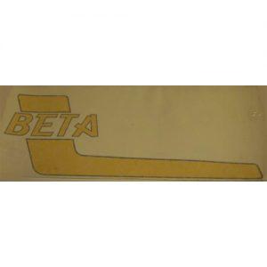 Beta , coppia adesivi pvc per serbatoio