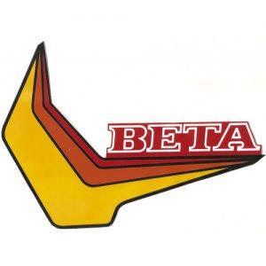 Beta, coppia adesivi pvc per serbatoio