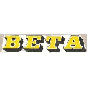 Beta adesivo pvc per serbatoio