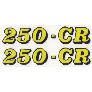 Beta, adesivo in pvc per fianchetti moto 250-CR
