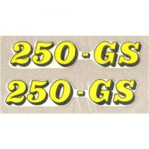 Beta, adesivi pvc per fianchetti 250 GS