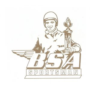 BSA decalcomania ad acqua per moto BSA