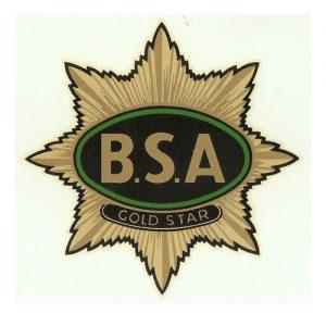 Decalcomania ad acqua per moto BSA