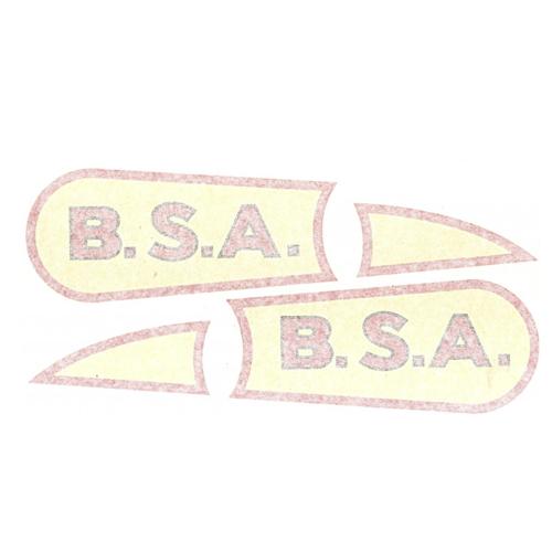Cppia adesivi in pvc per moto BSA