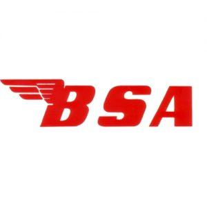 decalcomania trasferibile a secco per serbatoio moto BSA
