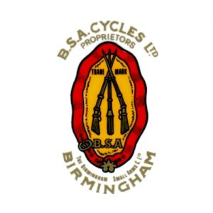 BSA decalcomania a secco per serbatoiomoto BSA