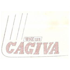 Adesivo in pvc per serbatoio Cagiva