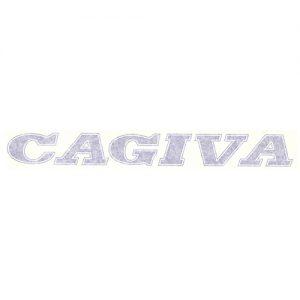 Adesivo per moto Cagiva bianco o blu