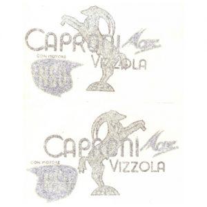 Coppia adesivi in pvc per serbatoio Capriolo Caproni