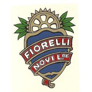 Decalcomania ad acqua per moto Fiorelli (Novi Ligure)