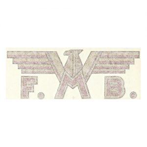 adesivi in pvc , coppia , per moto FMB