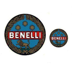 decalcomania trasferibile a secco , stemma generico per Benelli