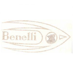 adesivo pvc, coppia per serbatoio, carter catena Benelli Rondine