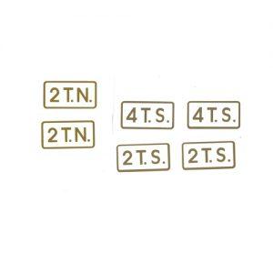 adesivi in pvc per Benelli - 2tn 2ts 4ts- varie dimensioni