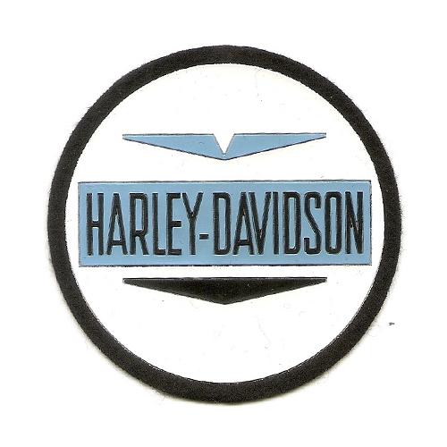 toppa in stoffa da cucire o incollare con scritta HARLEY-DAVIDSON