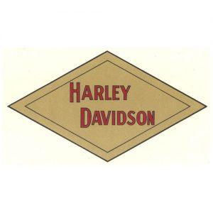 Decalcomania trasferibile a secco per Harley-Davidson