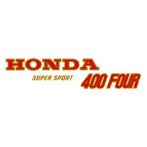 Per Honda Super Sporto, decalcomanie trasferibili a secco