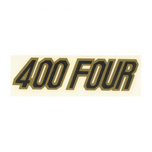 scritta 400 Four per Honda, decalcomania trasferibile a secco
