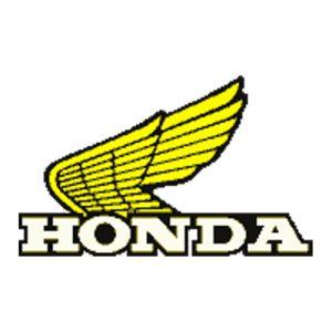coppia decalcomanie trasferibili a secco per serbatoio Honda