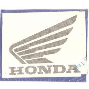 coppia di adesivi in pvc, coppia ali per HONDA