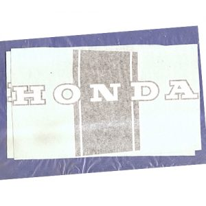 coppia di adesivi in pvc per HONDA