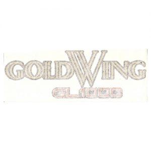 adesivo i pvc per fianchetti scritta GOLD WING per HONDA