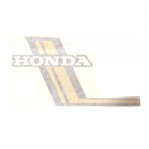 coppia adesivi in pvc per serbatoio moto HONDA