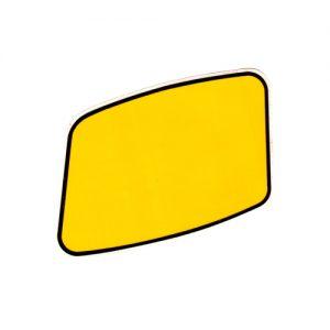Portanumeri per fianchetti moto ITALJET , coppia adesivi in pvc