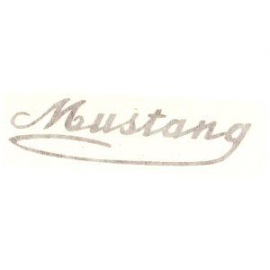adesivo in pvc per Italjet Mustang, per serbatoio