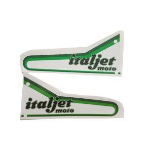 Coppia adesivi in pvc per serbatoio Italjet