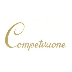 adesivo inpvc scritta Competizione per moto ITOM