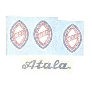 kit adesivi in pvc per bicicletta Atala