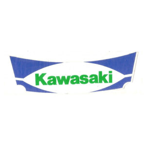 Adesivo in pvc per kawasaki
