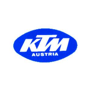 adesivo in pvc, KTM Austria scritta bianca