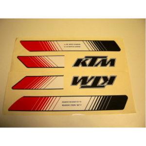 KTM, kit adesivi in pvc