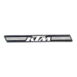 coppia di adesivi in pvc KTM