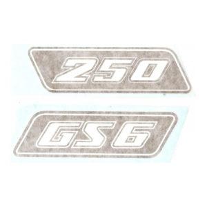 coppia di adesivi in pvc KTM 250
