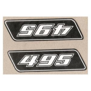 cloppia adesivi in pvc, KTM 495