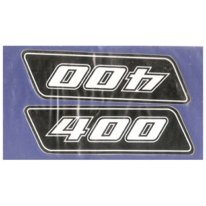 coppia di adesivi in pvc - KTM 400