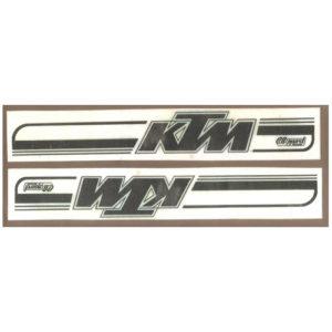 lcoppia di adesivi in pvc - KTM