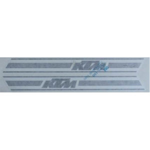 coppia di adesivi in pvc - KTM