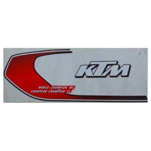 Adesivi in pvc, kit per KTM