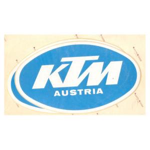 adesivo in pvc per KTM Austria