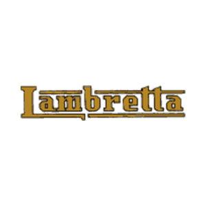 decalcomania trasferibile, scritta per Lambretta