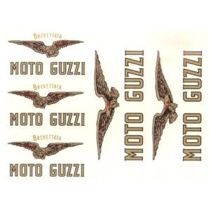 kit composto da serie di 6 aquile MOTO GUZZI