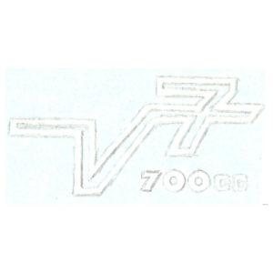 adesivo pvc per fianchetti MOTO GUZZI V7 700 CC