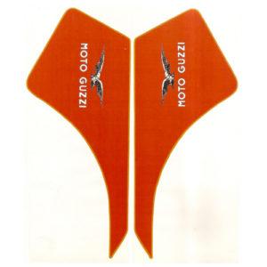 coppia di adesivi in pvc per serbatoio MOTO GUZZI DINGO