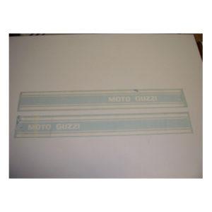 coppia di adesivi in pvc, strisce per serbatoio MOTO GUZZI
